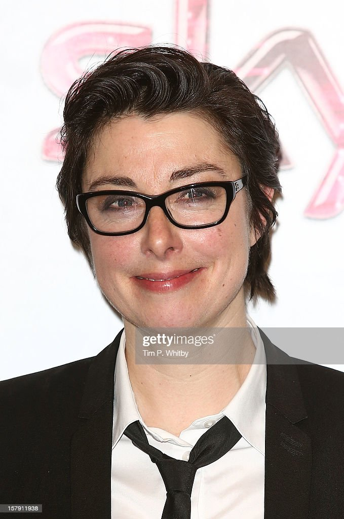Sue Perkins poses for a photograph in the press room at the Women in TV & Film Awards at London Hilton on December 7, 2012 in London, England.
