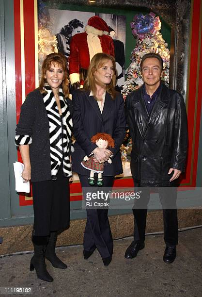 Sue ShifrinCassidy Sarah Ferguson and David Cassidy