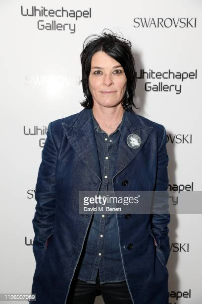 Sue Webster attends a glamorous gala dinner at Whitechapel Gallery as Rachel Whiteread is celebrated as the recipient of the Whitechapel Gallery Art...