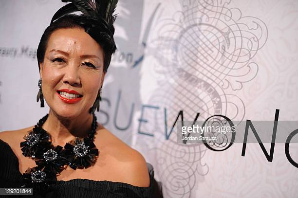 000da2520 Sue Wong attends Sue Wong Presents  Lady Or Vamp  Spring 2012 Fashion  Preview at