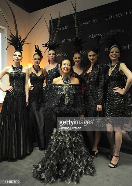 Sue Wong attends the Sue Wong Presents 'Autumn Sonata' Fall 2012 Fashion Show at Sue Wong Atelier on March 16 2012 in Los Angeles California