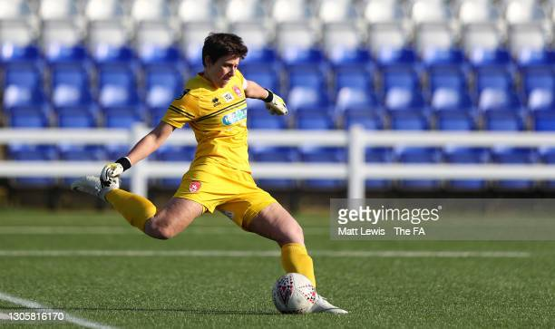 Sue Wood of Coventry United makes a pass during the Barclays FA Women's Championship match between Coventry United Ladies and London City Lionesses...