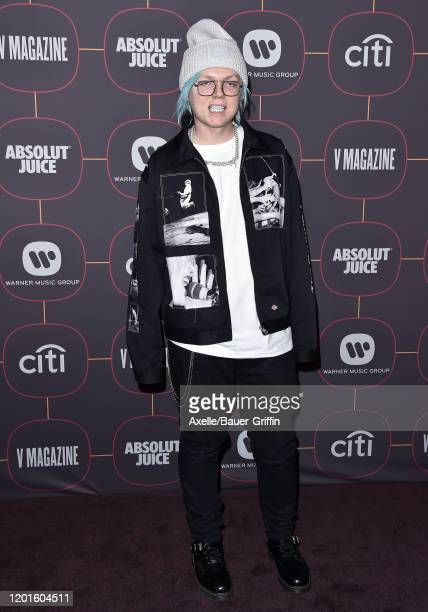 Sueco the Child attends Warner Music Group Pre-Grammy Party 2020 at Hollywood Athletic Club on January 23, 2020 in Hollywood, California.