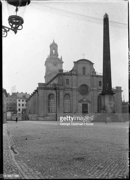 Suede eglise St Nicolas Stockholm, between 1900 and 1919.