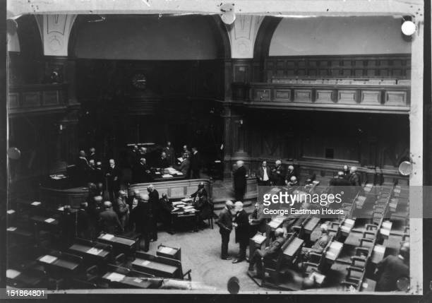 Suede Le Riksdag a Stokholm, between 1900 and 1919.
