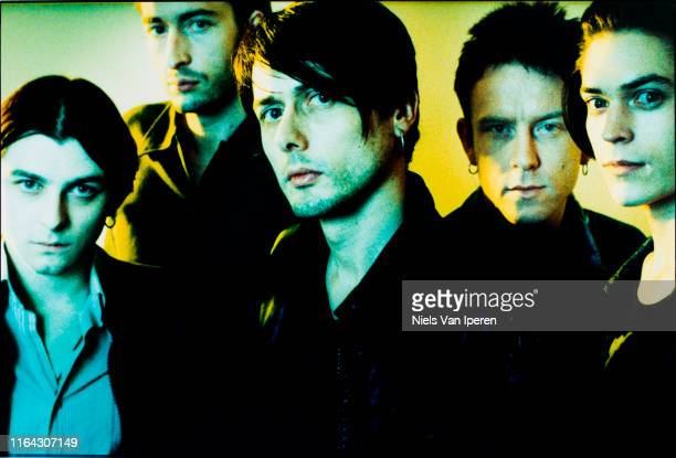 Suede, portrait, Paradiso, Amsterdam, Netherlands, 20th October 1996.