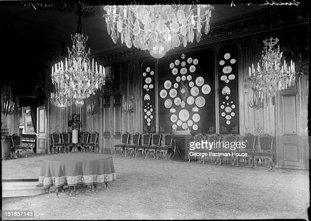 Suede Stockholm palais royal Salle a manger between 1900 and 1919