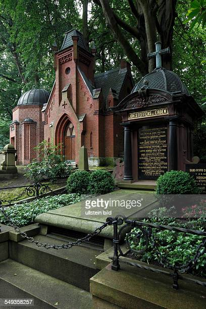 Suedfriedhof South Cemetery Kapellenberg graves funerary chapels mausolea family tombs