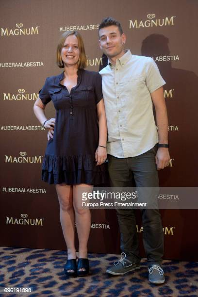 Sueño de Morfeo members attend the Magnum new campaign presentation party at the Palacete de Fortuny on June 14 2017 in Madrid Spain