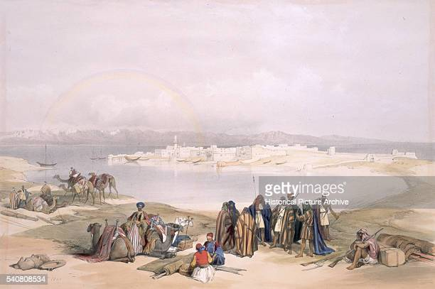 Suez in 1839 by David Roberts