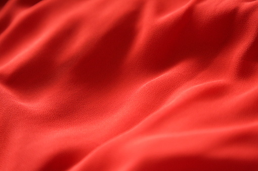 Suface of red color cloth - gettyimageskorea