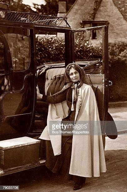 Suffragettes Suffrage activist Emmeline Pankhurst prominent in the fight for votes for women