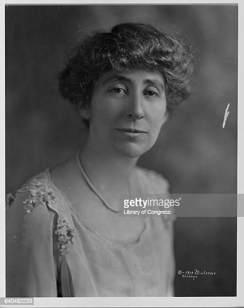 Suffragist Jeanette Rankin