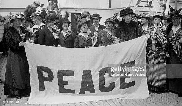 Suffragist Peace Delegates on NOORDAM