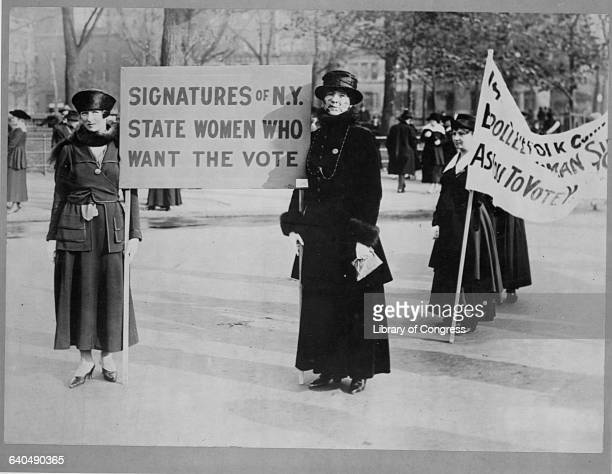 Suffragists Audre Osborne Mrs James Stevens