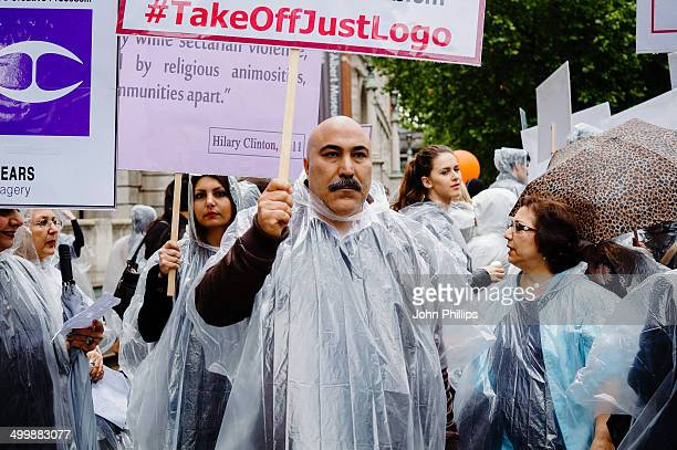 CONTENT] Sufi Muslims protesting outside London's Victoria and Albert Museum against the use of a logo by designer Roberto Cavalli They claim the...