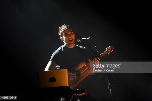Sufjan Stevens performs at Brown Theatre on November 12 2015 in Louisville Kentucky