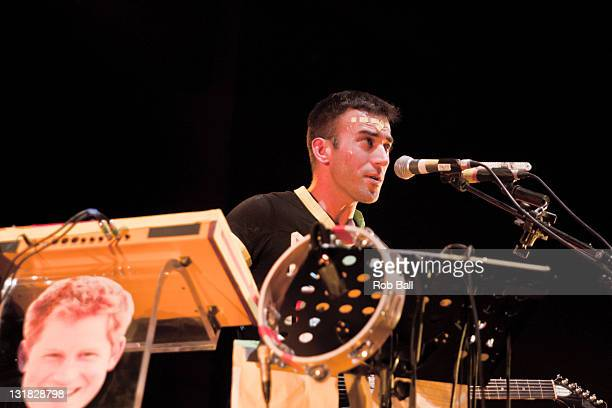 Sufjan Stevens performs at the Dome on day Three of 'The Great Escape' on May 14 2011 in Brighton England