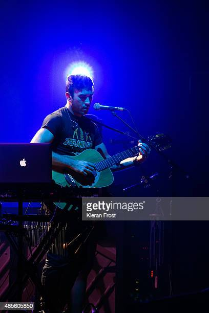 Sufjan Stevens performs at The Helix on August 28, 2015 in Dublin, Ireland.