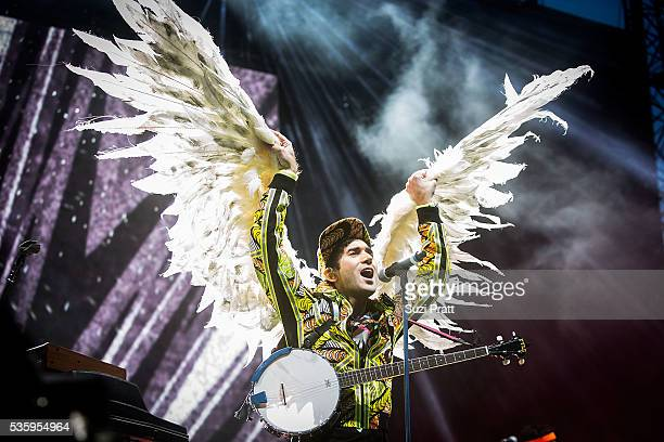 Sufjan Stevens performs at the Sasquatch Music Festival at the Gorge Amphitheatre on May 30 2016 in George Washington