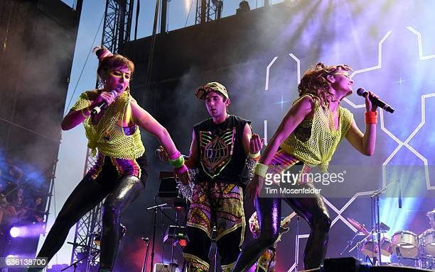 Sufjan Stevens performs during the Sasquatch Music Festival at the Gorge Amphitheatre on May 30 2016 in George Washington