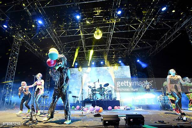 Sufjan Stevens performs onstage at the 2016 Panorama NYC Festival Day 2 at Randall's Island on July 23 2016 in New York City