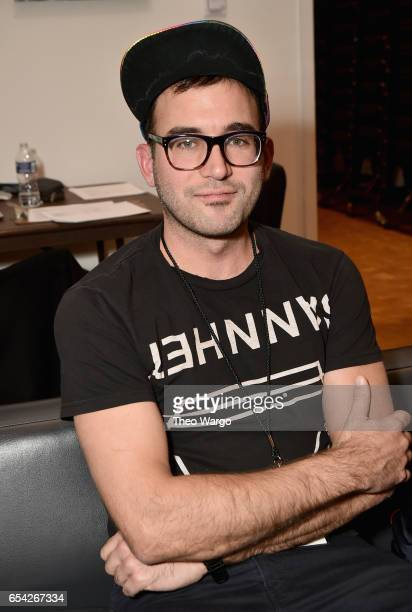 Sufjan Stevens poses backstage during the Tibet House US 30th Anniversary Benefit Concert Gala to celebrate Philip Glass's 80th Birthday at Carnegie...