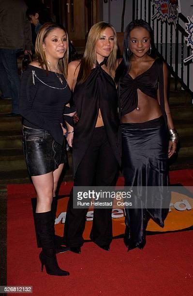 Sugababes at the Brit Awards 2003 nominations press launch