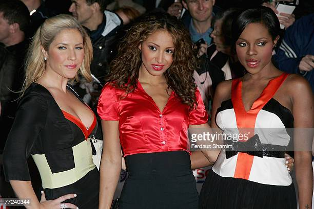 Sugababes attend the Pride of Britain Awards 2007 held at The London Studios on October 9 2007 in London