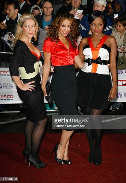 Sugababes attends the Pride of Britain Awards 2007 held at The London Studios on October 9 2007 in London