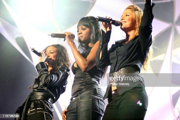 Sugababes during Cherrios Childline Concert January 28 2007 at The Point in Dublin Ireland