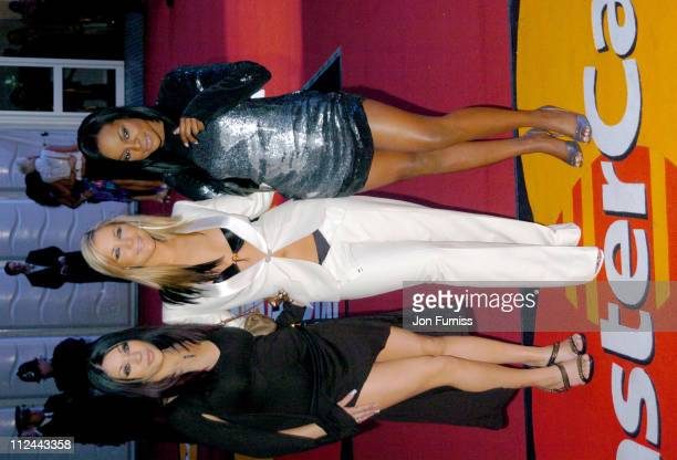 Sugababes during The 2004 Brit Awards Arrivals at Earls Court in London Great Britain