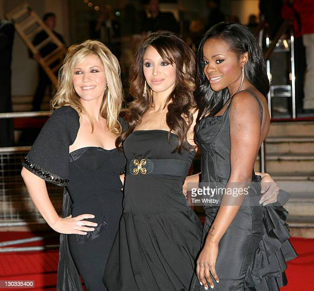 Sugababes during The Brit Awards 2006 with MasterCard Outside Arrivals at Earls Court in London Great Britain