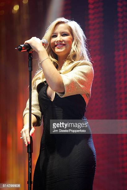 Sugababes member Heidi Range performing live on stage at the T4 Poll Winners' Party 2005 With Smash Hits at Wembley Arena Pavilion on November 20th...