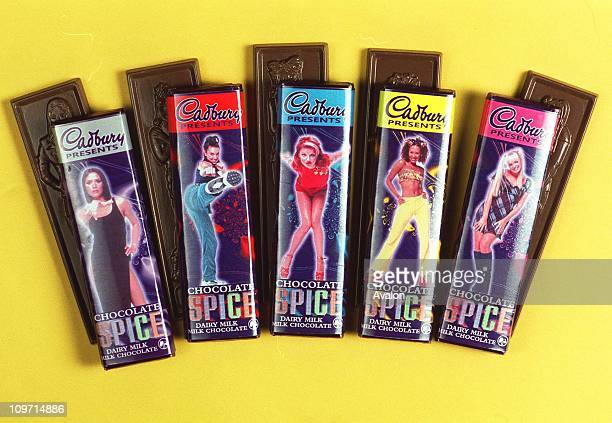 Sugar And Spice And All Things Nice The new SPICE GIRL milk chocolate bars from Cadbury's
