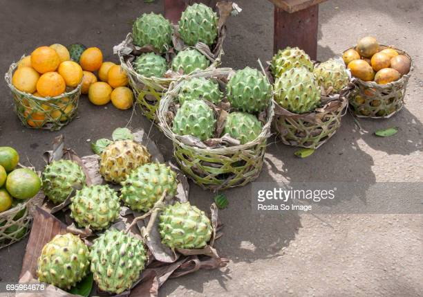 Sugar apple, ambarella and orange, Madagascar