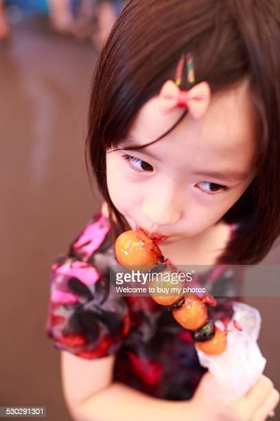 Sugar coated Chinese hawthorn fruit