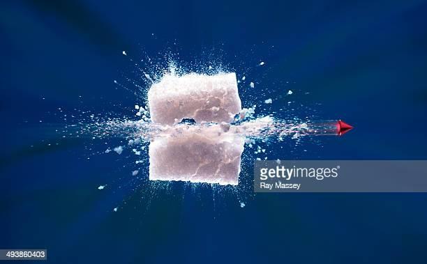 sugar cube - zucker stock-fotos und bilder