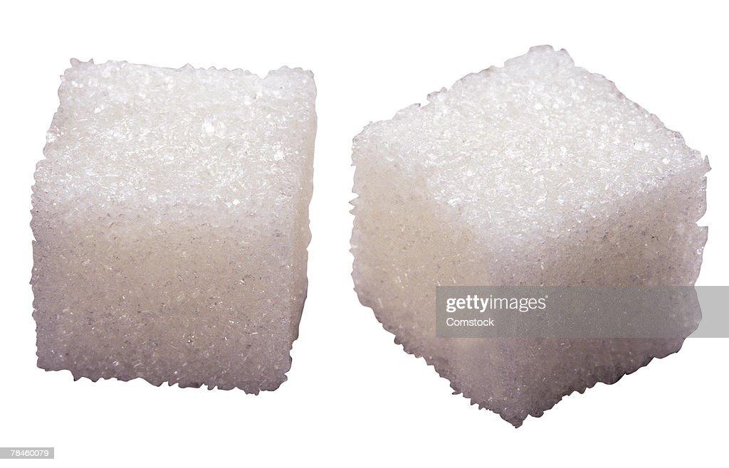 Sugar cubes : Stock Photo