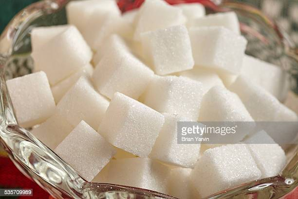 sugar cubes, sometimes called lumps - sugar bowl crockery stock photos and pictures