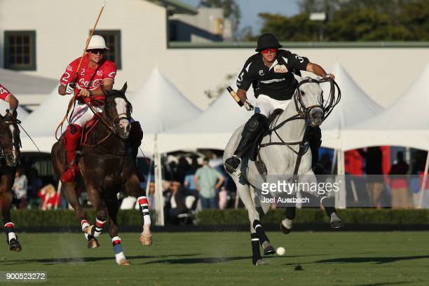 Sugar Erskine of CocaCola is unable to catch up to Matt Coppola of Tackeria as he rides in on goal during the Herbie Pennell Cup on December 30 2017...