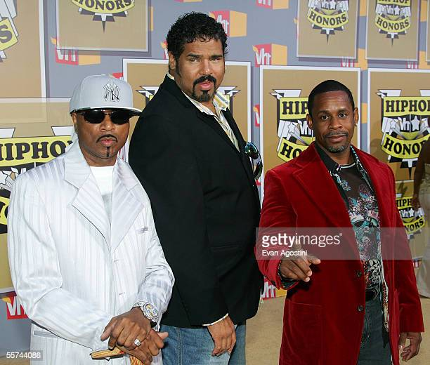 Sugar Hill Gang members Hen Dogg Wonder Mike and Master Gee attend the Second Annual VH1 Hip Hop Honors at the Hammerstein Ballroom September 22 2005...