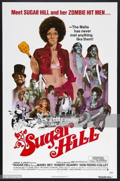Sugar Hill poster US poster Marki Bey 1974