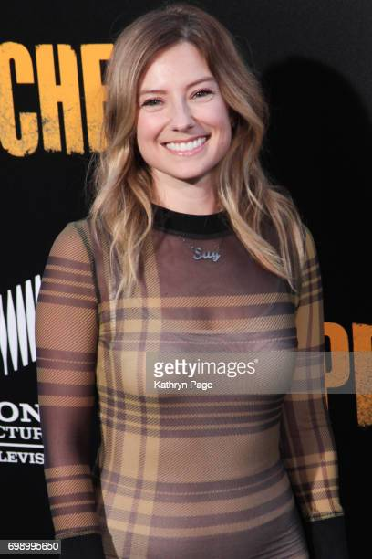 Sugar Lyn Beard arrives at the Premiere of AMC's Preacher Season 2 at The Theatre at Ace Hotel on June 20 2017 in Los Angeles California