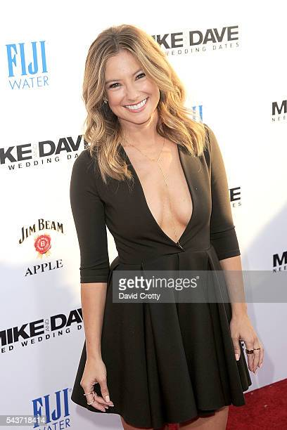 Sugar Lyn Beard attends the Mike and Dave Need Wedding Dates premiere at ArcLight Cinemas Cinerama Dome on June 29 2016 in Hollywood California