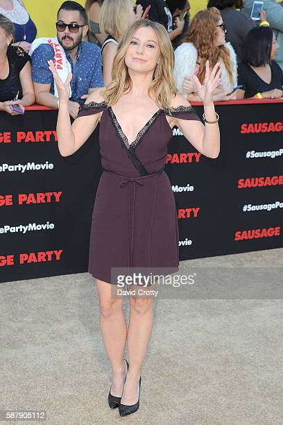 Sugar Lyn Beard attends the World Premiere of Sausage Party at Regency Village Theatre on August 9 2016 in Westwood California