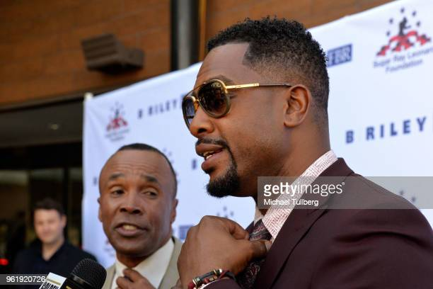Sugar Ray Leonard and Bill Bellamy attend the 9th Annual Big Fighters Big Cause Charity Boxing Night Benefiting The Sugar Ray Leonard Foundation at...