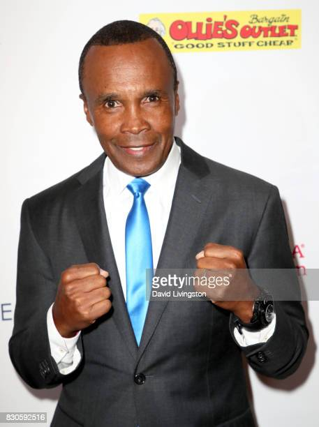 Sugar Ray Leonard at the 17th Annual Harold Carole Pump Foundation Gala at The Beverly Hilton Hotel on August 11 2017 in Beverly Hills California