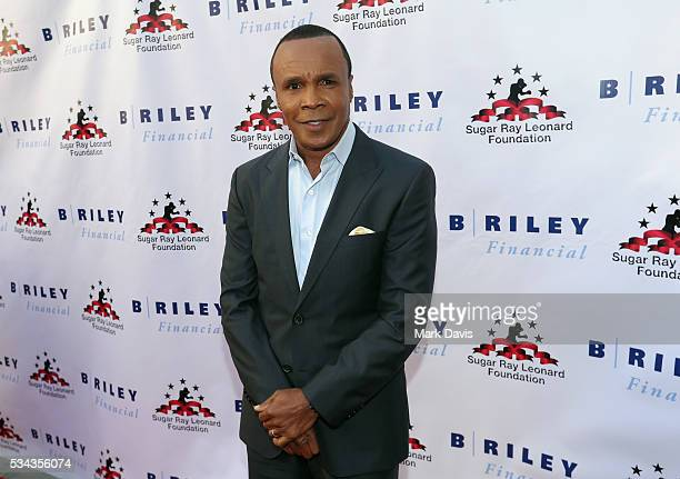 "Sugar Ray Leonard attends B. Riley & Co. And Sugar Ray Leonard Foundation's 7th Annual ""Big Fighters, Big Cause"" Charity Boxing Night at Dolby..."