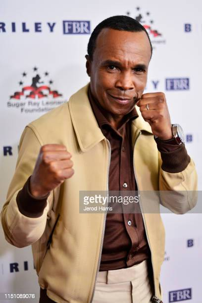 Sugar Ray Leonard attends Sugar Ray Leonard Foundation's 10th Annual 'Big Fighters, Big Cause' Charity Boxing Night Presented by B. Riley FBR at The...